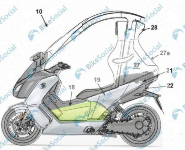 La estructura de seguridad desmontable de la motocicleta le da al diseño de BMW lo mejor de ambos mundos