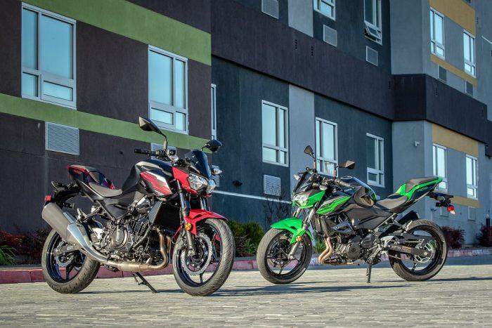 Revisión del primer viaje de Kawasaki Z400