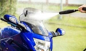 pantalla de motocicleta