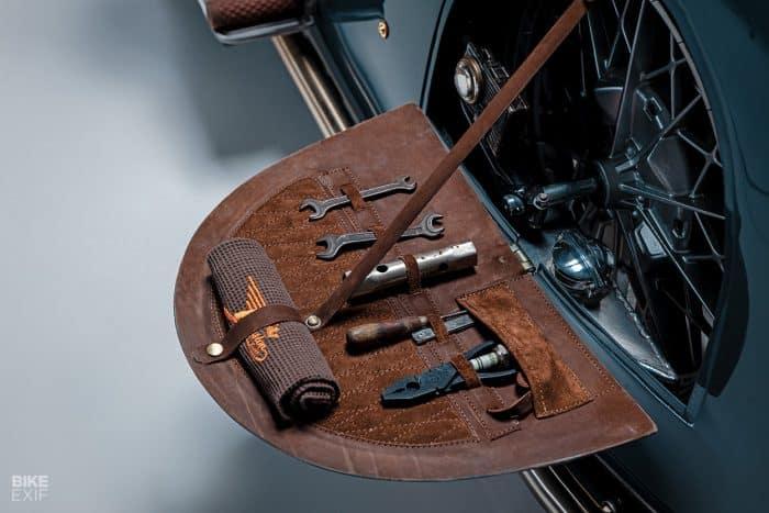 Motocicleta BMW art deco de Kingston Custom