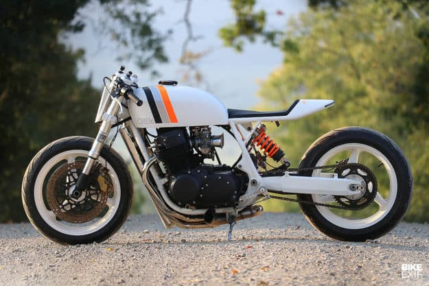 White Hot: una cafe racer Honda CB750 de Nueva York
