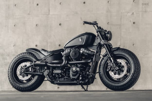Mighty Guerrilla: una Harley-Davidson Fat Bob de Rough Crafts