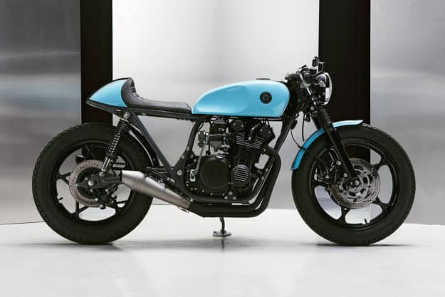 Suzuki GS 550 cafe racer de Eastern Spirit Garage.
