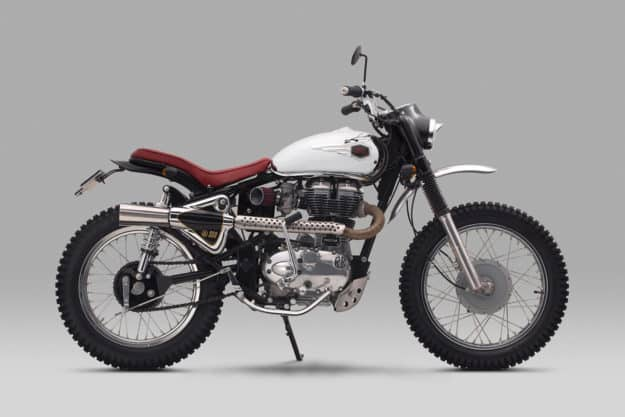 Impresionante codificador Royal Enfield Bullet 350 de Thrive Motorcycle