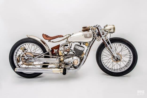 La premiada Harley-Davidson Super 10 vintage de Jackson Burrows
