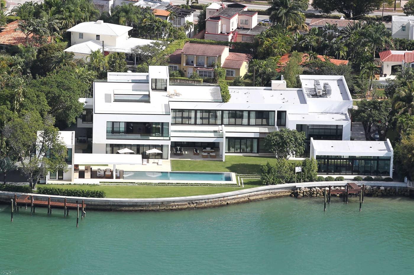 Casa Alex Rodríguez Miami