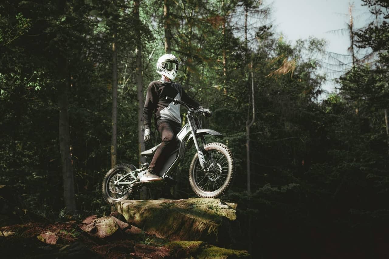 Bicicleta de tierra eléctrica Kuberg FreeRider